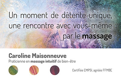 Carte de visites (massage intuitif)
