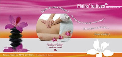 Flyer (cabinet de massages)